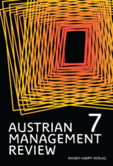 eBook AUSTRIAN MANAGEMENT REVIEW, Volume 7 Cover