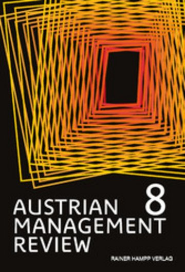 eBook AUSTRIAN MANAGEMENT REVIEW, Volume 8 Cover