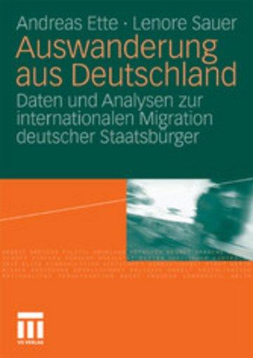 eBook Auswanderung aus Deutschland Cover