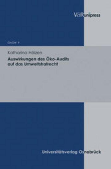eBook Auswirkungen des Öko-Audits auf das Umweltstrafrecht Cover
