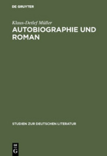eBook Autobiographie und Roman Cover