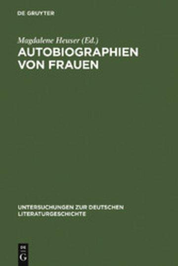 eBook Autobiographien von Frauen Cover