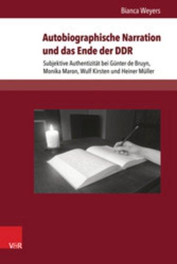 eBook Autobiographische Narration und das Ende der DDR Cover
