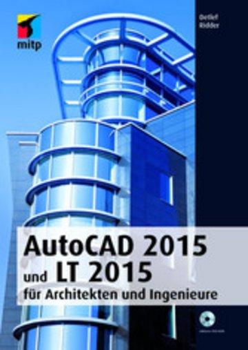 eBook AutoCAD 2015 und LT 2015 für Architekten und Ingenieure Cover