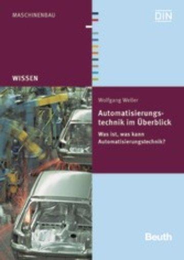 eBook Automatisierungstechnik im Überblick Cover