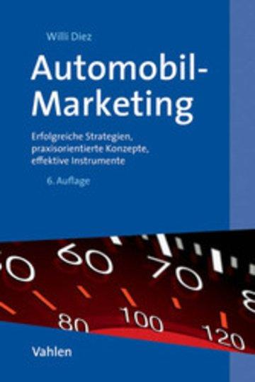 eBook Automobil-Marketing Cover
