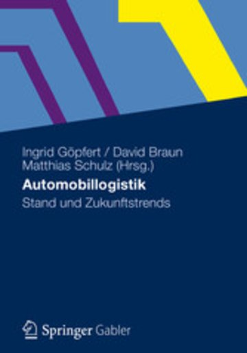 eBook Automobillogistik Cover
