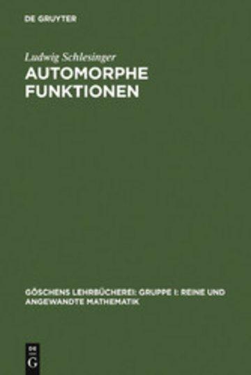 eBook Automorphe Funktionen Cover