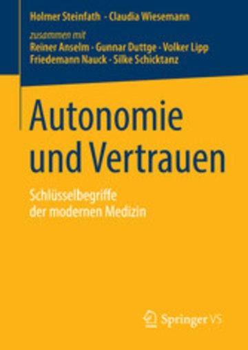 eBook Autonomie und Vertrauen Cover