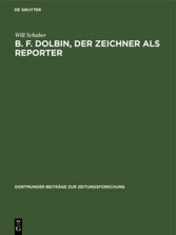 eBook B. F. Dolbin, der Zeichner als Reporter Cover