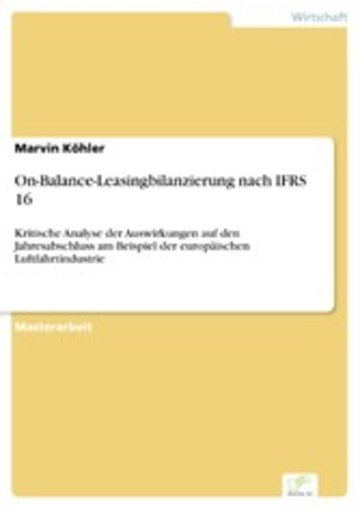 eBook On-Balance-Leasingbilanzierung nach IFRS 16 Cover