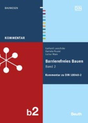 eBook Barrierefreies Bauen Band 2 Cover
