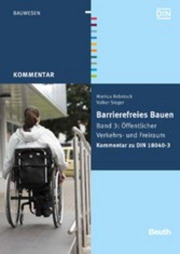 eBook Barrierefreies Bauen Cover