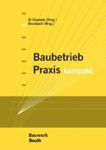 eBook Baubetrieb Praxis kompakt Cover