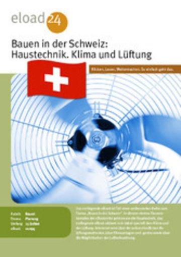 eBook Bauen in der Schweiz: Haustechnik. Klima und Lüftung Cover