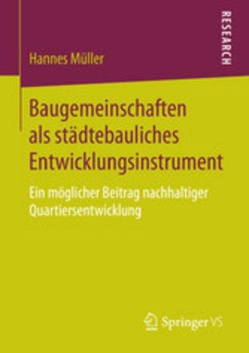 eBook Baugemeinschaften als städtebauliches Entwicklungsinstrument Cover