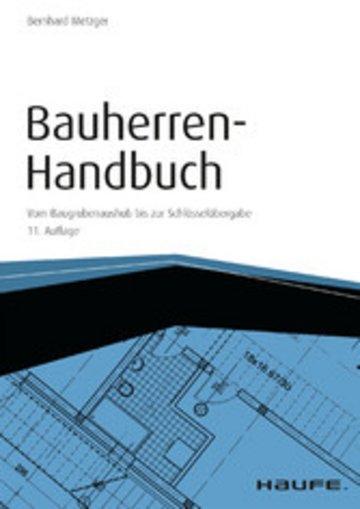 eBook Bauherren-Handbuch - mit Arbeitshilfen online Cover