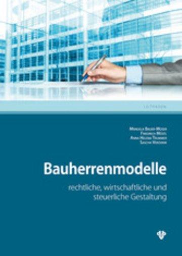 eBook Bauherrenmodelle (Ausgabe Österreich) Cover
