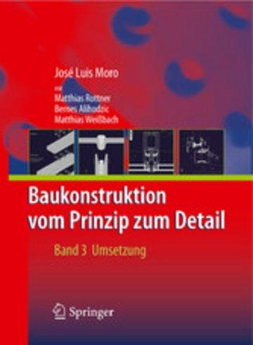 eBook Baukonstruktion - vom Prinzip zum Detail Cover