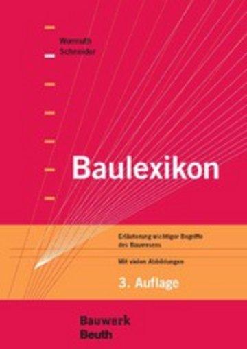 eBook Baulexikon Cover