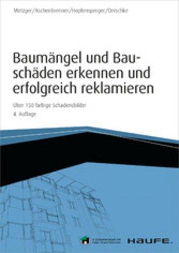 eBook Baumängel und Bauschäden - inkl. Arbeitshilfen online Cover