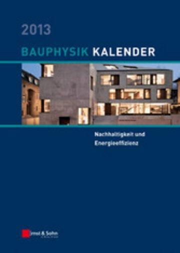 eBook Bauphysik-Kalender 2013 Cover
