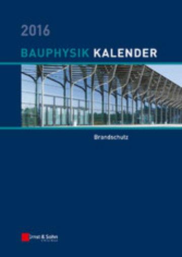 eBook Bauphysik-Kalender 2016 Cover