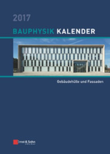 eBook Bauphysik-Kalender 2017 Cover