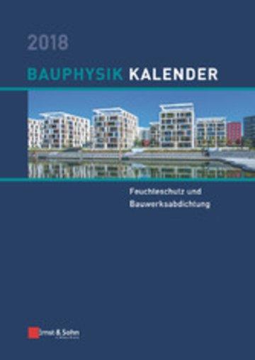 eBook Bauphysik Kalender 2018 Cover