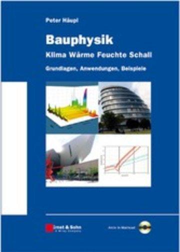 eBook Bauphysik - Klima Wärme Feuchte Schall Cover
