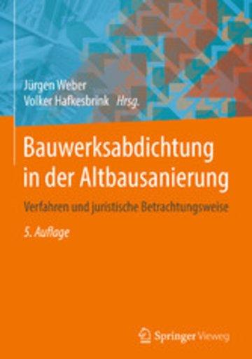 eBook Bauwerksabdichtung in der Altbausanierung Cover