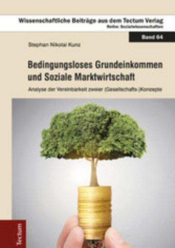 eBook Bedingungsloses Grundeinkommen und Soziale Marktwirtschaft Cover