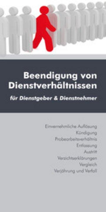 eBook Beendigung von Dienstverhältnissen (Ausgabe Österreich) Cover
