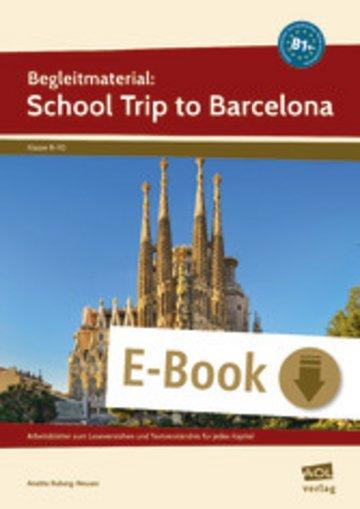 eBook Begleitmaterial: School Trip to Barcelona (B1+) Cover