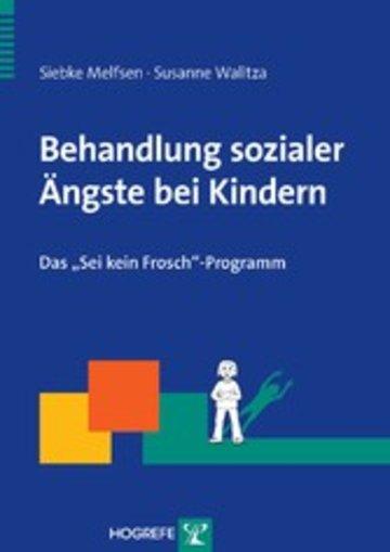 eBook Behandlung sozialer Ängste bei Kindern Cover