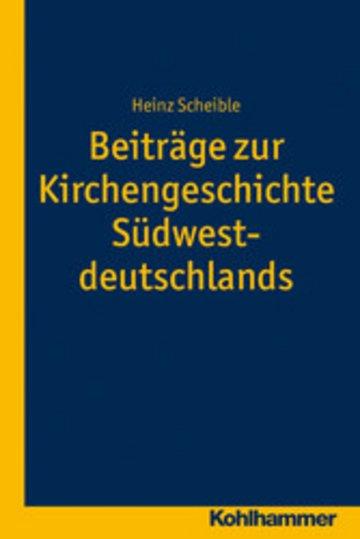 eBook Beiträge zur Kirchengeschichte Südwestdeutschlands Cover