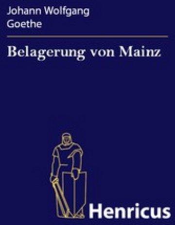 eBook Belagerung von Mainz Cover