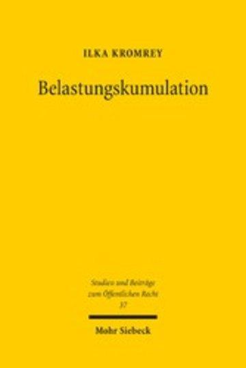 eBook Belastungskumulation Cover