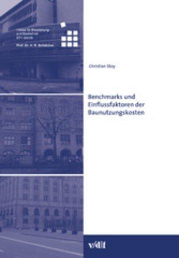 eBook Benchmarks und Einflussfaktoren der Baunutzungskosten Cover