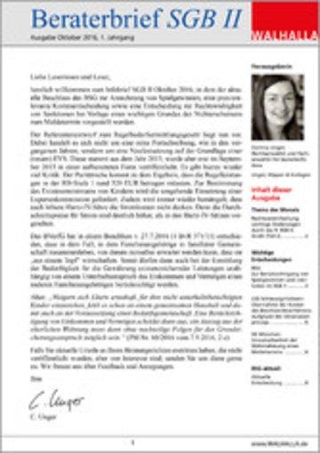 eBook Beraterbrief Pflege Ausgabe Juli 2016/6 Cover