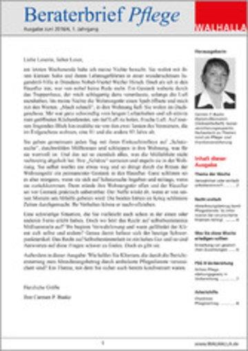 eBook Beraterbrief Pflege Ausgabe Juni 2016/4 Cover