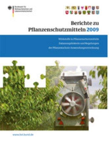eBook Berichte zu Pflanzenschutzmitteln 2009 Cover