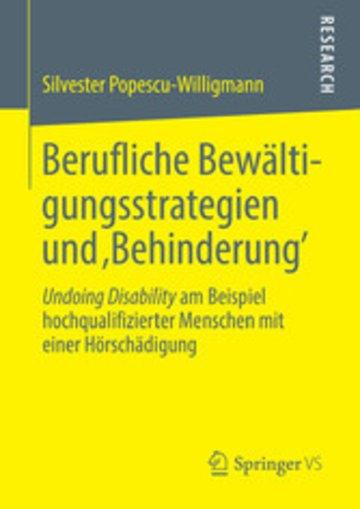 eBook Berufliche Bewältigungsstrategien und 'Behinderung' Cover