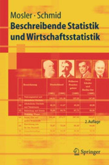 eBook Beschreibende Statistik und Wirtschaftsstatistik Cover