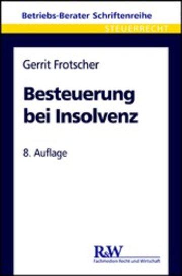 eBook Besteuerung bei Insolvenz Cover
