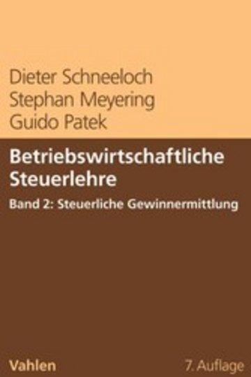 eBook Betriebswirtschaftliche Steuerlehre Band 2: Steuerliche Gewinnermittlung Cover