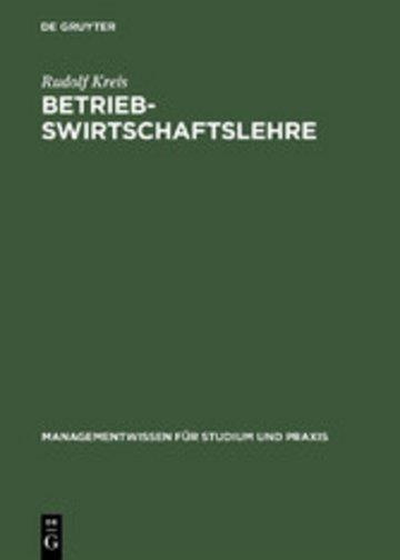 eBook Betriebswirtschaftslehre Cover
