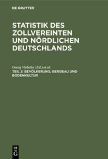 eBook Bevölkerung, Bergbau und Bodenkultur Cover