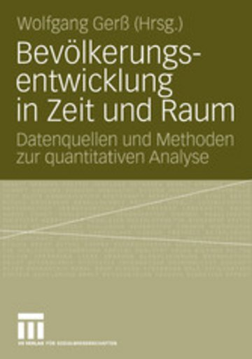eBook Bevölkerungsentwicklung in Zeit und Raum Cover