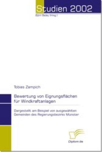 eBook Bewertung von Eignungsflächen für Windkraftanlagen Cover